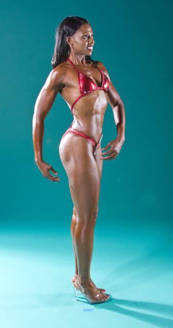 fitness model photo opp