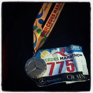runner number 775 mercedes 2014