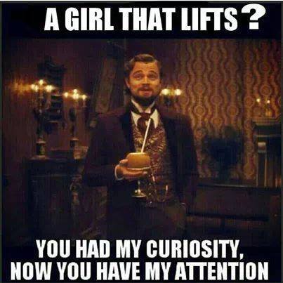 a girl who lifts